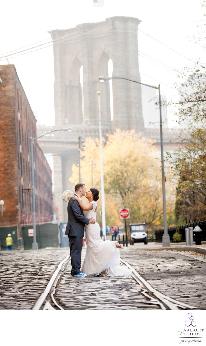 Brooklyn Bridge Wedding Photography