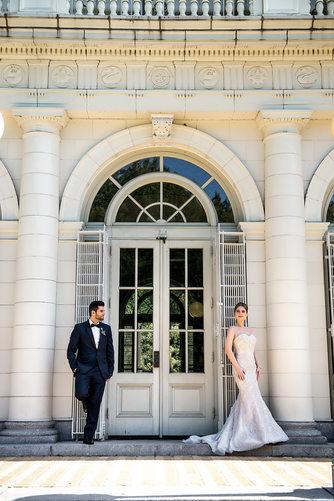Prospect Park Boathouse Wedding Photo