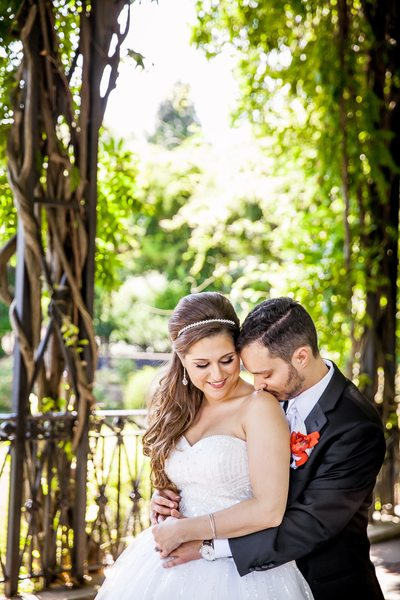 Conservatory Gardens Central Park Wedding Photographer
