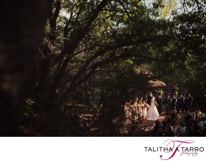 Wedding Ceremony Bishops Lodge Gazebo