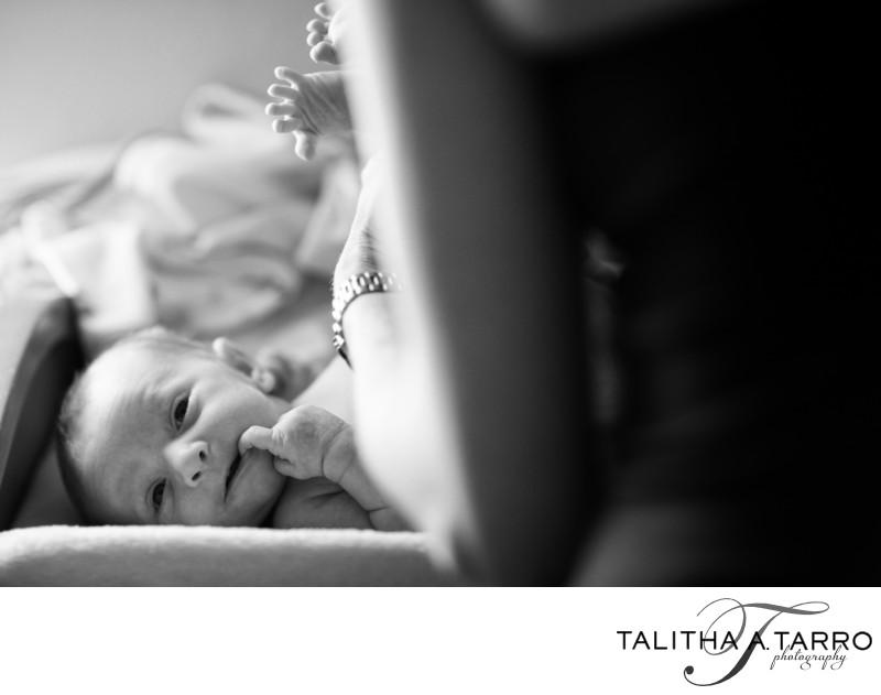 Creative newborn photography Albuquerque