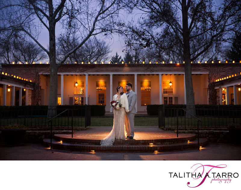 Los Poblanos Winter Wedding