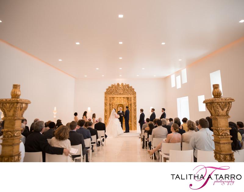 Eldorado Hotel Wedding Ceremony