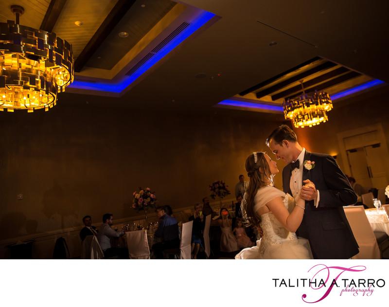 First dance photography Santa Fe Wedding Reception
