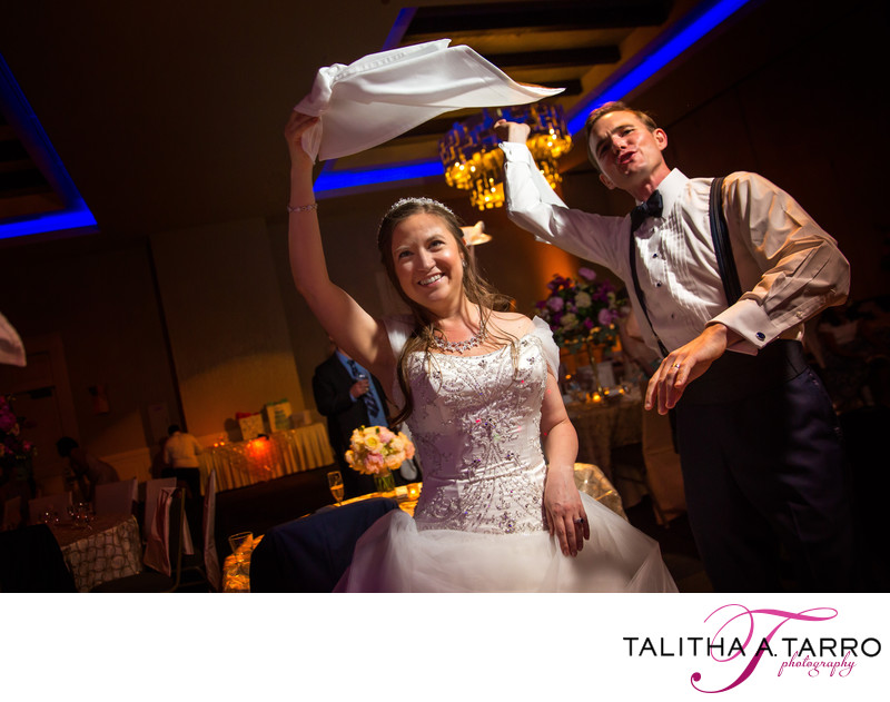 Wedding reception celebration Eldorado Hotel