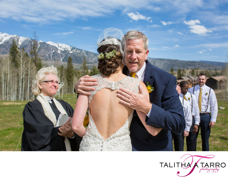 Father of the Bride at Durango CO