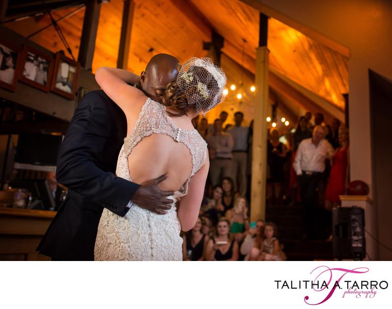 First Dance Wedding Reception Silverpick Lodge