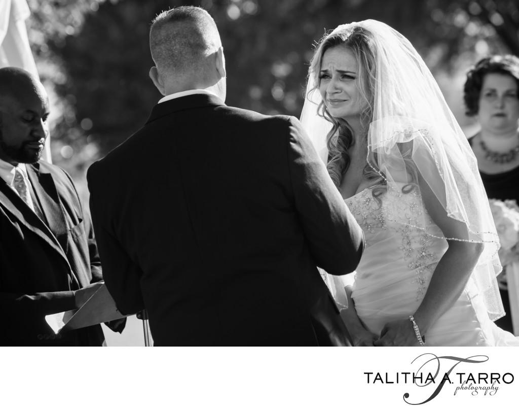 Las Cruces outdoor wedding ceremony
