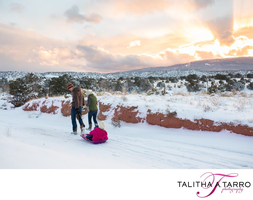 Artistic and fun family photography in New mexico