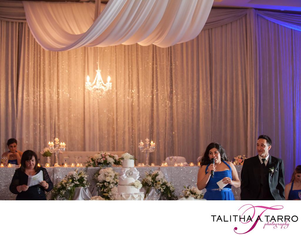 Hyatt Regency Albuquerque Wedding Reception Toast