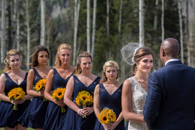Cascade Village outdoor wedding in Durango