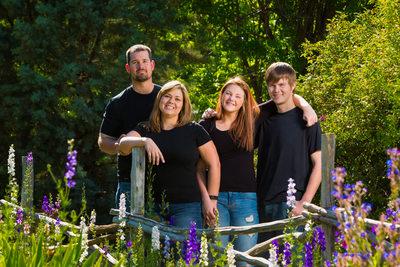 Family Portrait Albuquerque Botanic Garden