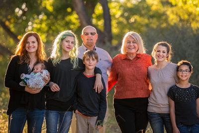 Fine Art family portrait Albuquerque