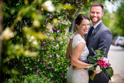 A springtime wedding in Santa Fe