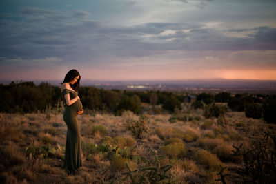 Desert Maternity session