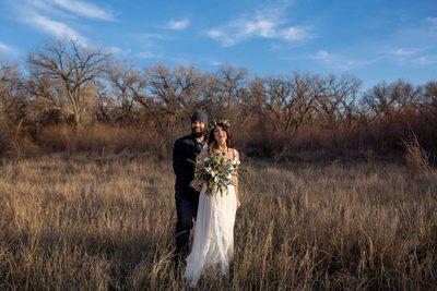 Sunrise wedding Albuquerque