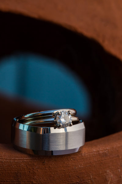 New Mexico Wedding Ring Shot