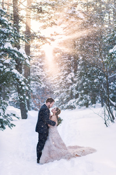 New Mexico Winter Wedding