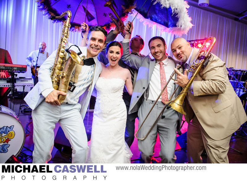 Arbor Room City Park Wedding with the Bucktown All-Stars