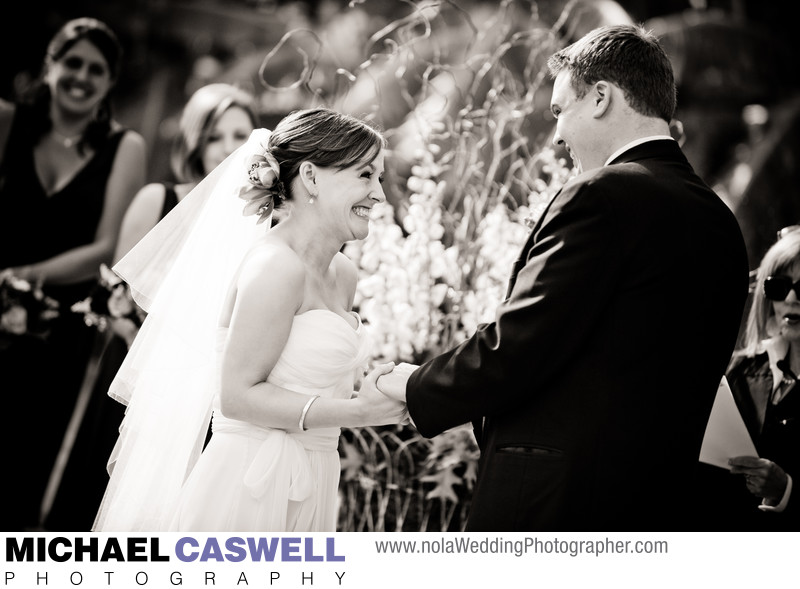 Outdoor Wedding Ceremony in the French Quarter