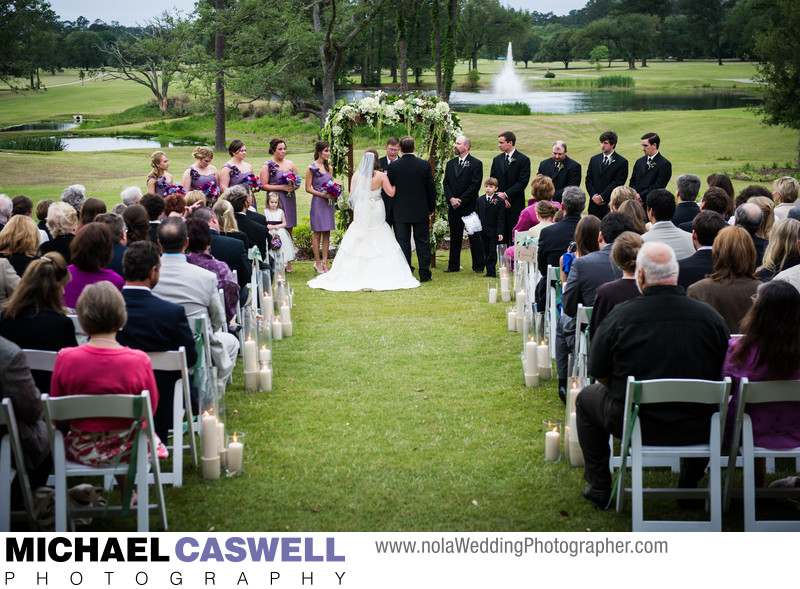 Tchefuncta Country Club Wedding in Covington