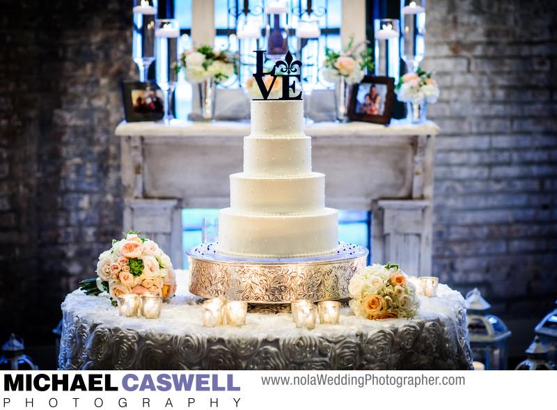 Royal Cakery Wedding Cake at The Chicory
