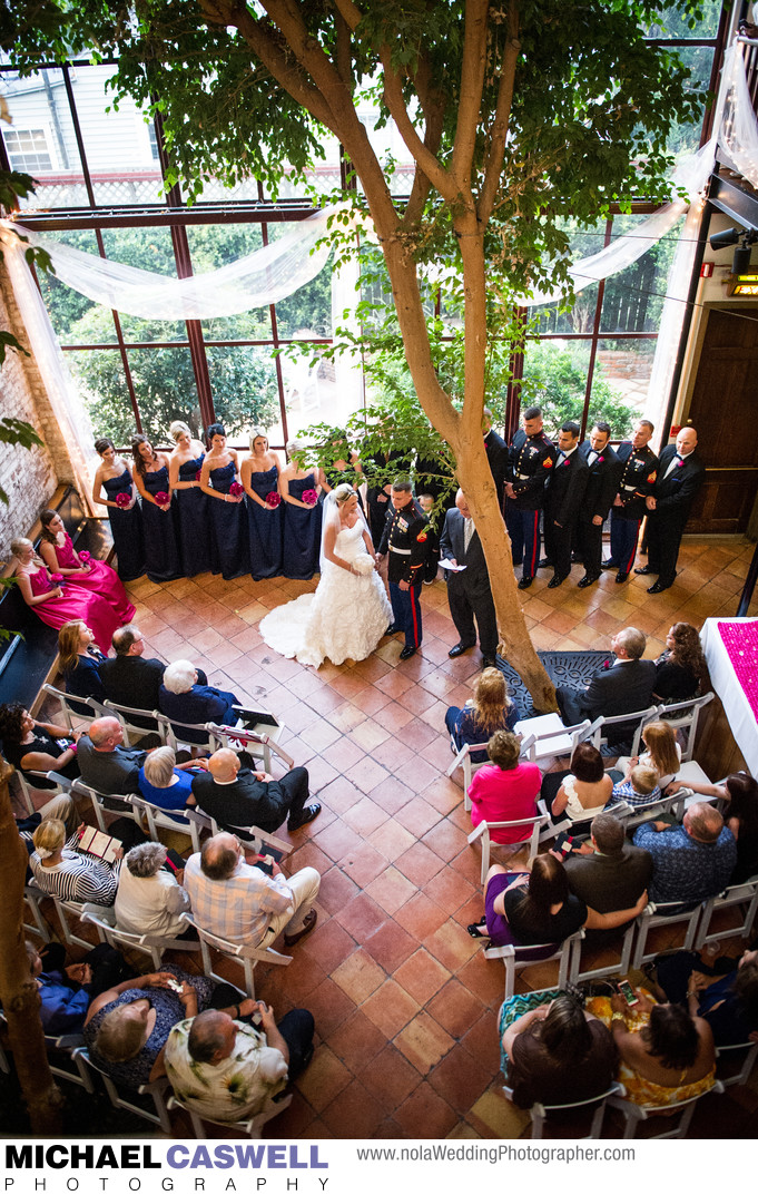 Rosy's Jazz Hall Wedding Ceremony