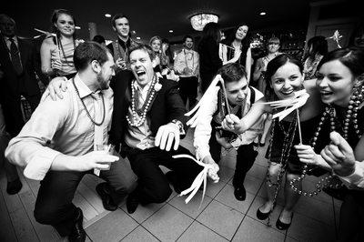 Wedding Guests Having Fun at Southern Oaks