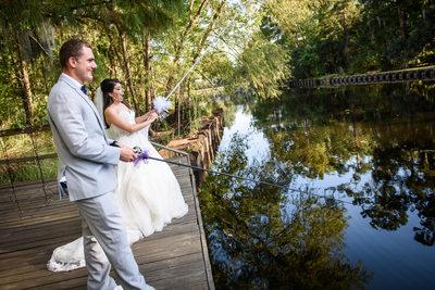 Palmettos on the Bayou Wedding in Slidell Louisiana