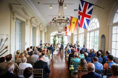 Wedding Ceremony at the Cabildo in New Orleans
