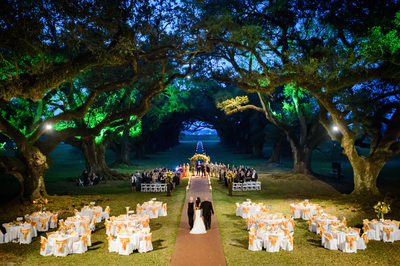 Oak Alley Plantation Wedding Photography in Louisiana