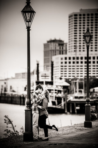 Engagement Portrait in New Orleans
