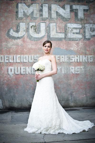 French Quarter Bridal Portrait