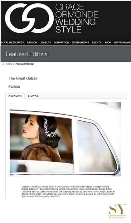 luxury wedding inspiration Grace Ormonde Wedding style published