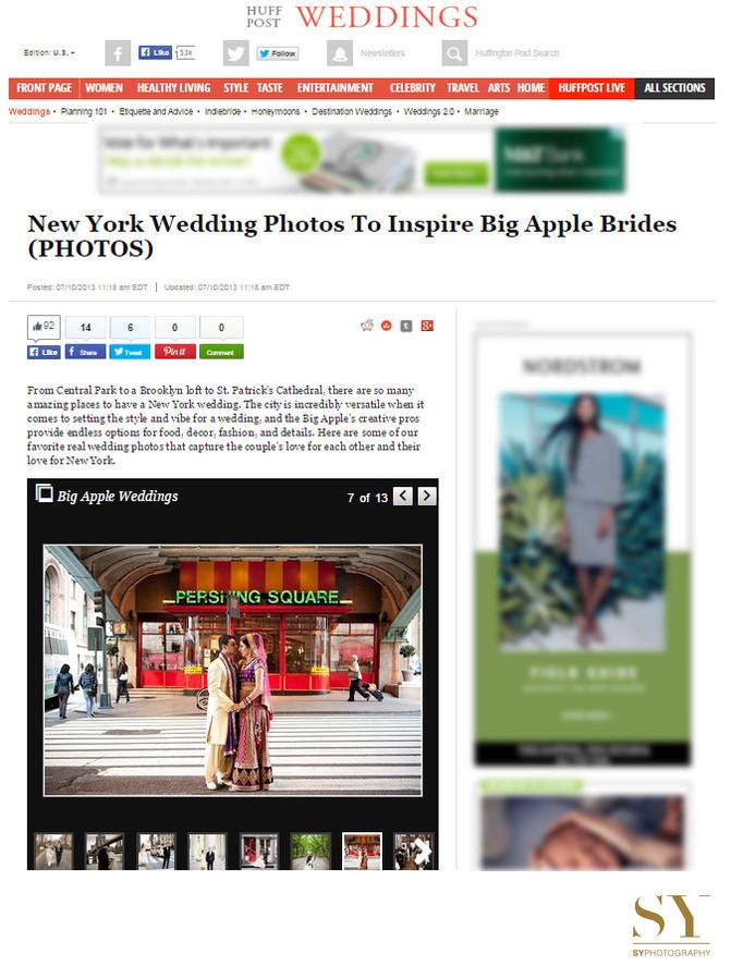 New York wedding photos to inspire Big Apple Brides Huffington Post Wedding