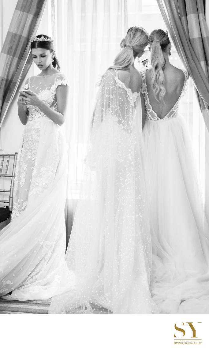 Berta Bridal NY fashion week backstage