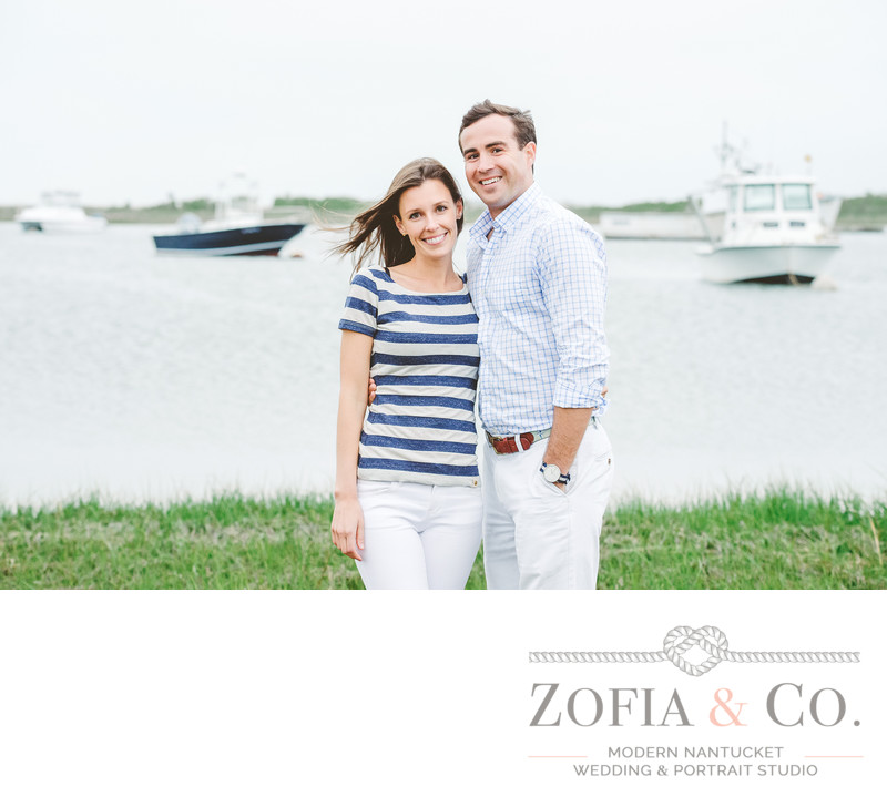 madaket harbor nautical engagement
