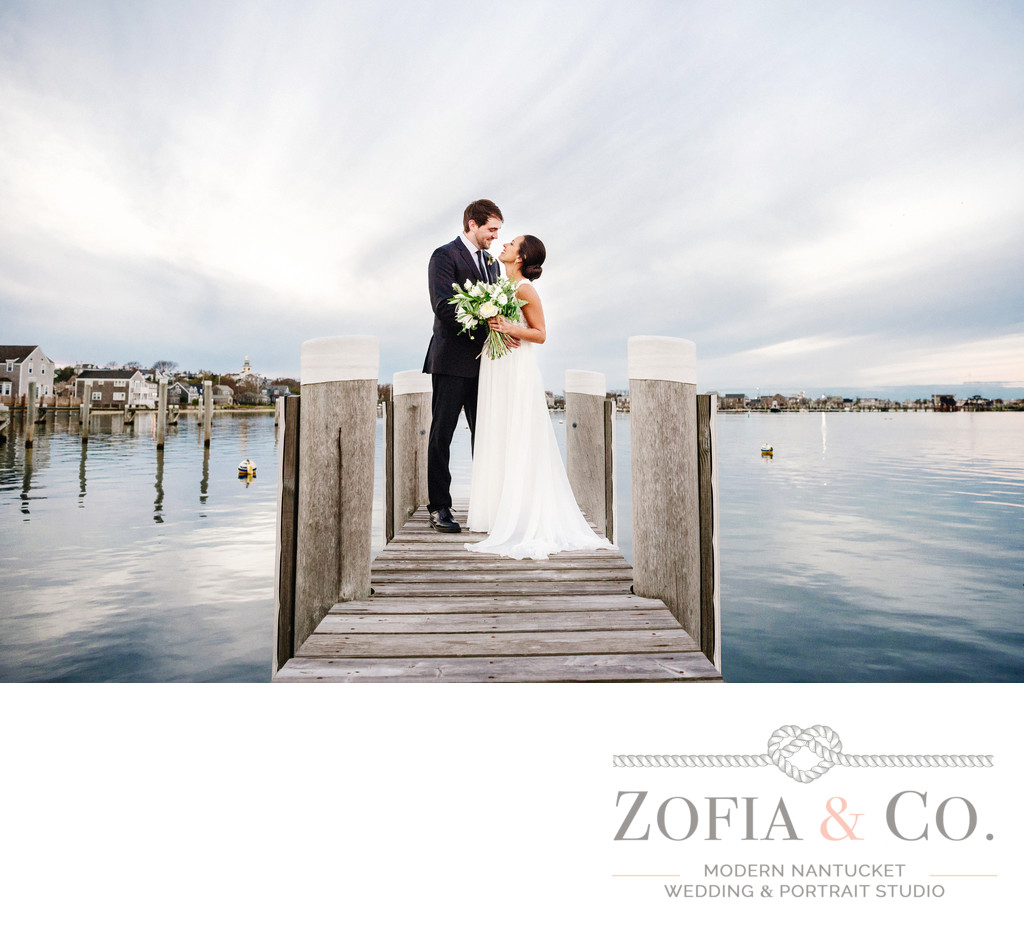 wedding couple pregnant bride great harbor yacht club