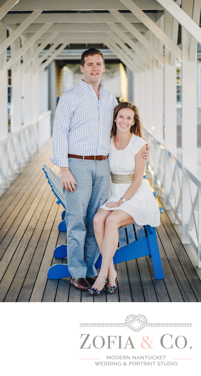Galley Beach Engagement Couple