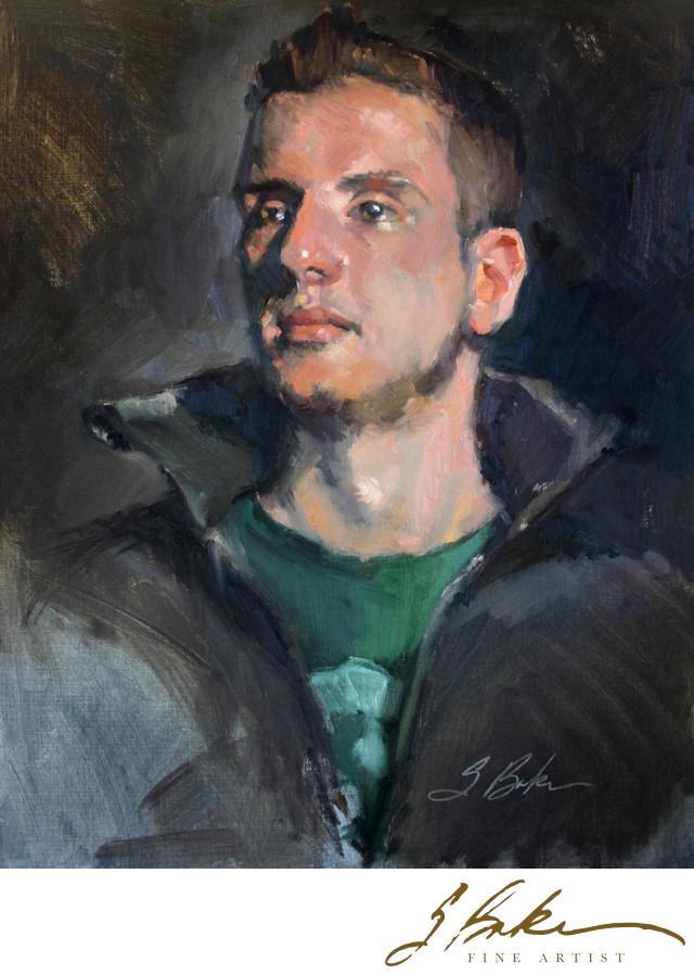 Alex, 20x16