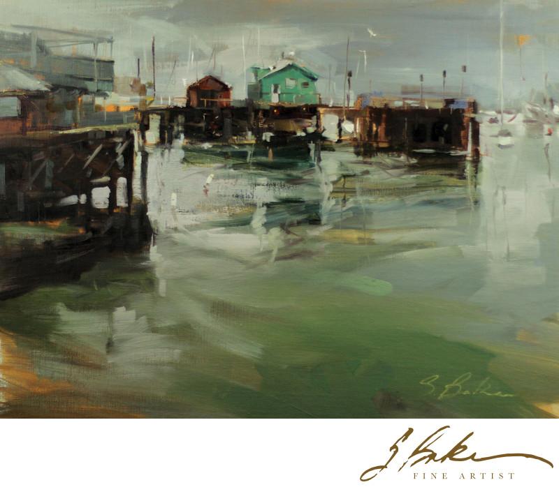 Fisherman's Wharf, 12 x 16