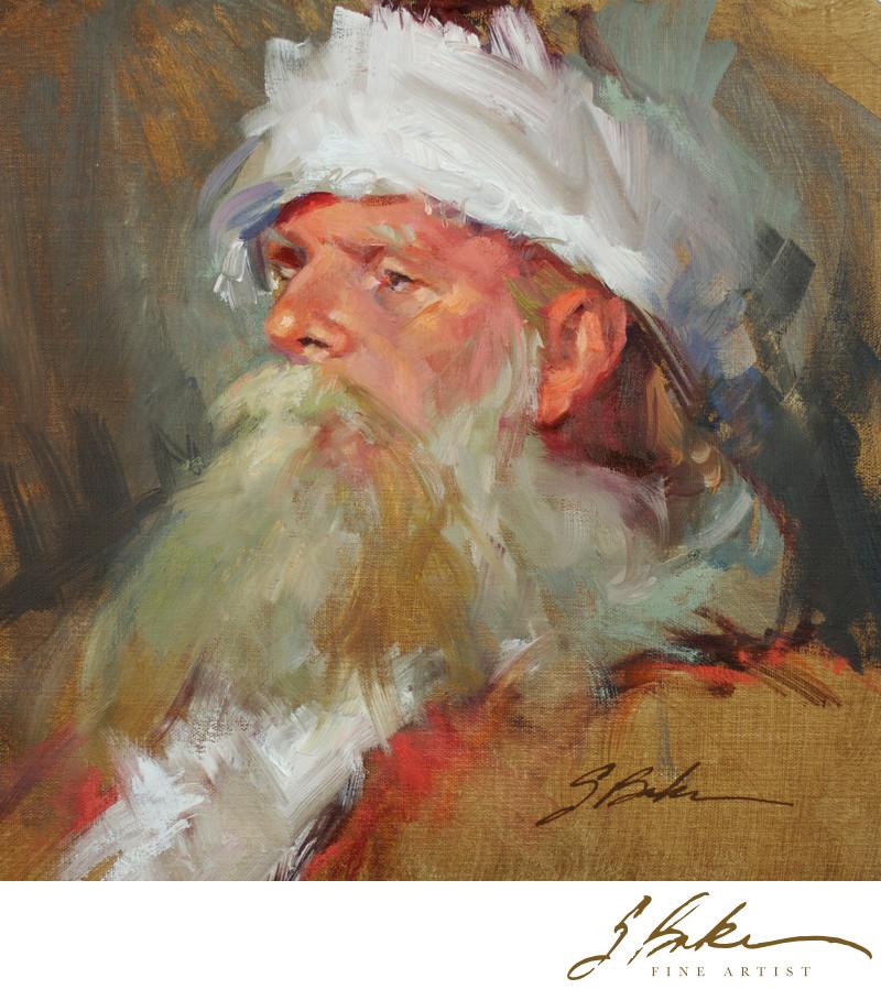 Saint Nicholas, 10 x 10