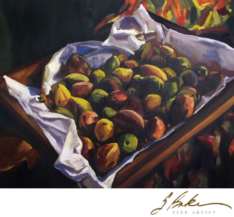Almonds, 16x20