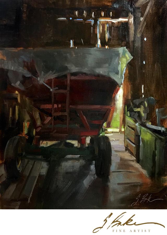 Ralph's Barn, 16x20