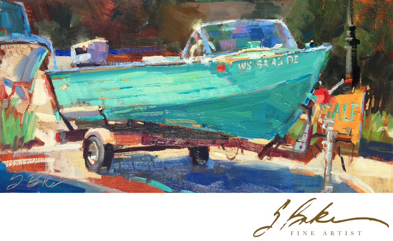 Boat for Sale, 12x24