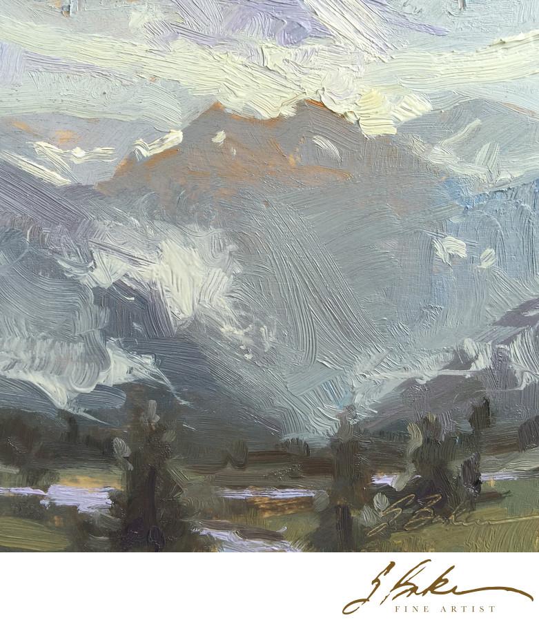 Morning Mist, , 6x6