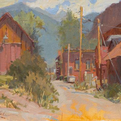 Tellurider Alleyway , 16x20