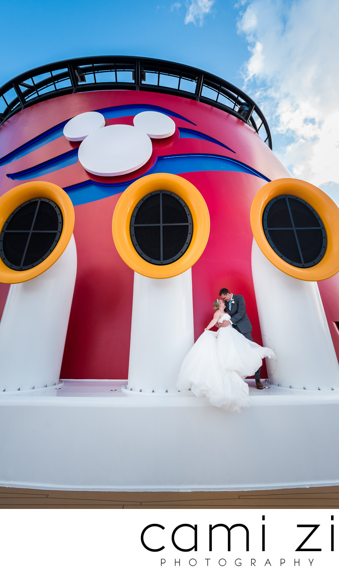 Disney Cruise Line Wedding Photographer