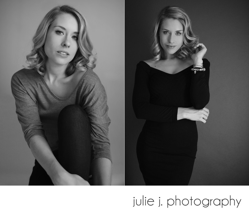 Modern glamour and boudoir photographer in Richmond VA