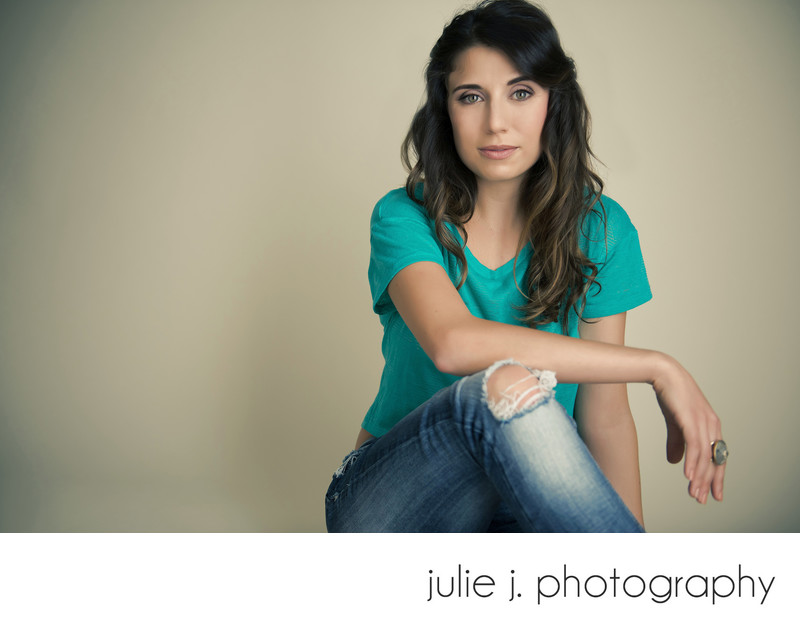 Casual modern glamour portraits and head shots